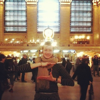 APRIL 15th: ALL LOVE!  -Eliza Starbuck #grandcentral #lovetrickster #loveblaster