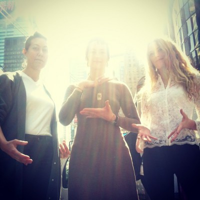 APRIL 3rd: JOY-FU New York!  -Eliza Starbuck with Standing Lotus and Tigerlily  #timessquare #lovespacemeditation #thetransformativearts
