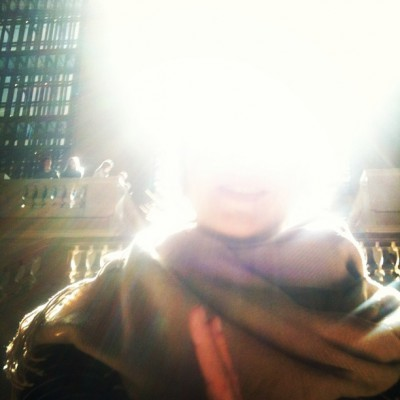APRIL 9th: Follow the light and you'll be ALL-right.  -Eliza Starbuck #grandcentral #loveblaster #lightbright