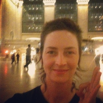 JULY 8th: Midnight meditation- filling Grand Central with LOVE!  -Eliza Starbuck ‪#‎loveblaster‬ ‪#‎grandcentralmagic‬ ‪#‎AmmaMama‬