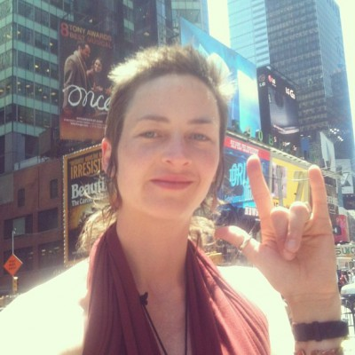 JUNE 16th: Times Square Love-blaster!!!! -Eliza Starbuck
