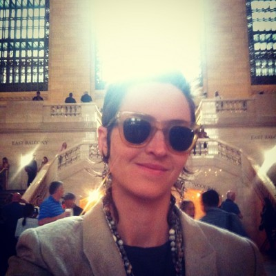 JUNE 6th: Grand Central, you just got rainbow blasted!  -Eliza Starbuck #loveblaster #grandcentralmagic